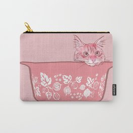 Cat in Bowl #1 Carry-All Pouch
