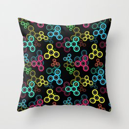 Spinner Throw Pillow