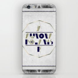 AURORA POLARIS#01 iPhone Skin