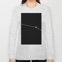 ARIES (BLACK & WHITE) Long Sleeve T-shirt