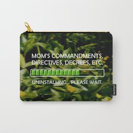 Uninstalling Commandments Carry-All Pouch