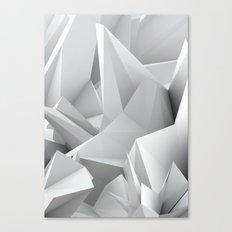 White Noiz Canvas Print