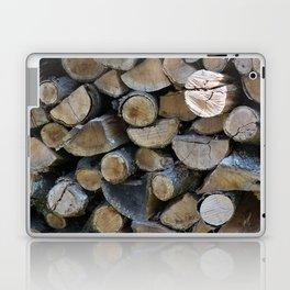 Wood Pile Laptop & iPad Skin