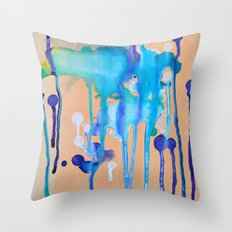 Orchid I Throw Pillow