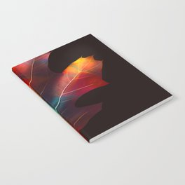 Rainbow Leaf Notebook