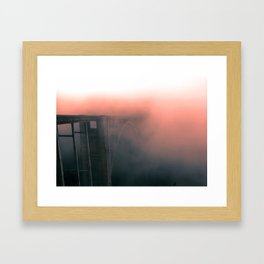 Bixby Creek Bridge Framed Art Print