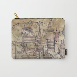 Hogwarts Map Carry-All Pouch