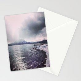 Volcano in Hokkaido Stationery Cards