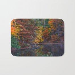 Autumn Foliage at Loch Raven Reservoir Bath Mat