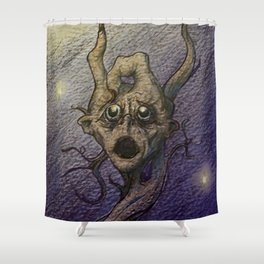 The Guilt Tree Shower Curtain
