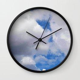Beautiful Cloud Formation Wall Clock