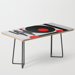 Optical Red Coffee Table