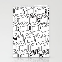 architect Stationery Cards featuring Architect and Little Houses by lllg