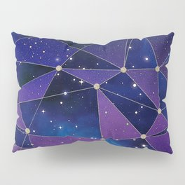 Interstellar Network Pattern Pillow Sham
