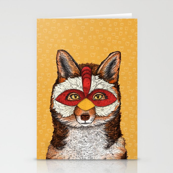 ChickenFox Stationery Cards