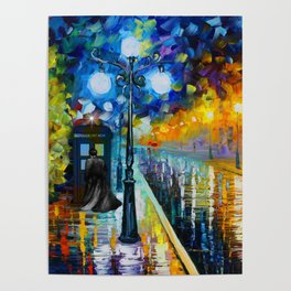 Dr.who at painting Poster