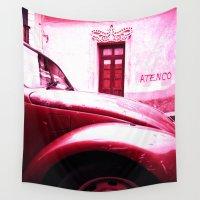 vw Wall Tapestries featuring VW Kaefer by Julia Aufschnaiter