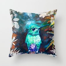 Posh Bird Throw Pillow