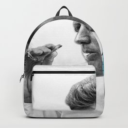 John F Kennedy Smoking Backpack