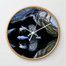 Blue Turtle Wall Clock
