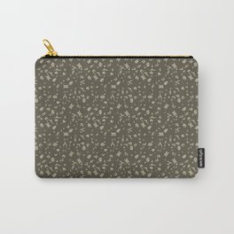 Omnic - Cream and Grey Carry-All Pouch