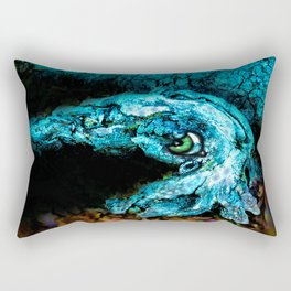 bark-ing shy cuttlefish Rectangular Pillow