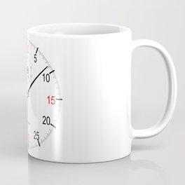 Stop Watch Face Coffee Mug