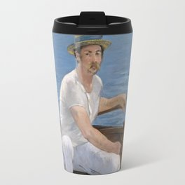Boating by Edouard Manet Travel Mug