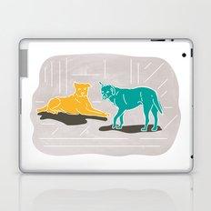 Two Dogs Laptop & iPad Skin