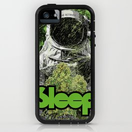 Sleep : The Botanist iPhone Case