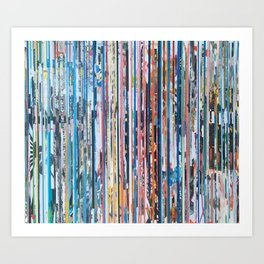 STRIPES 28 Art Print