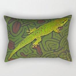 Madagascar day gecko Rectangular Pillow