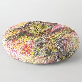 Canelo, the Chameleon Floor Pillow