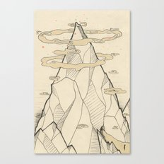 Ray Hope Mountain Canvas Print