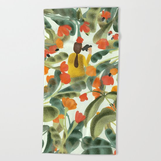 Spying On You Beach Towel