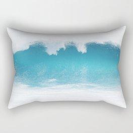 The Blue Wedge Rectangular Pillow