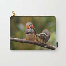 Shake that Booty, Zebra Finch! Carry-All Pouch