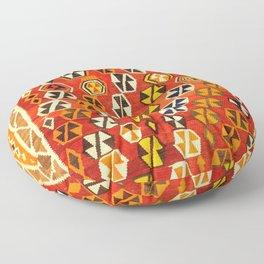 Shiraz Vintage Kilim Print Floor Pillow