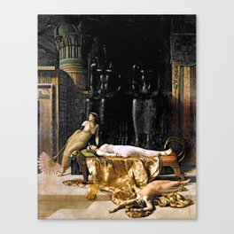 The Death Of Cleopatra Canvas Print