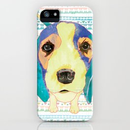 Beach Dog  • Camilo -Beagle iPhone Case