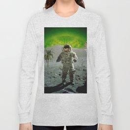palm tree moonman Long Sleeve T-shirt