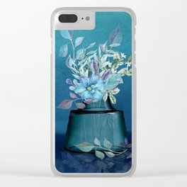 The Moods of Blue Clear iPhone Case