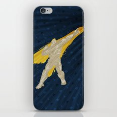 Grabbing Memories (Homage to Abel from Street Fighter) iPhone & iPod Skin