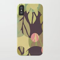 jungle iPhone & iPod Cases featuring Jungle by VessDSign