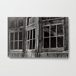 Three Windows Metal Print