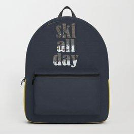 ski all day Backpack
