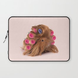 CURLY GUINEA PIG Laptop Sleeve
