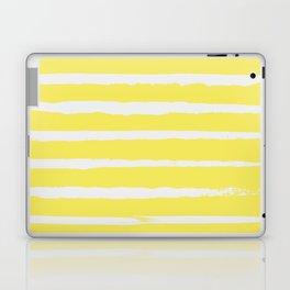 Irregular Stripes Yellow Laptop & iPad Skin