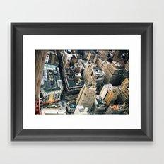 New York City from above Framed Art Print