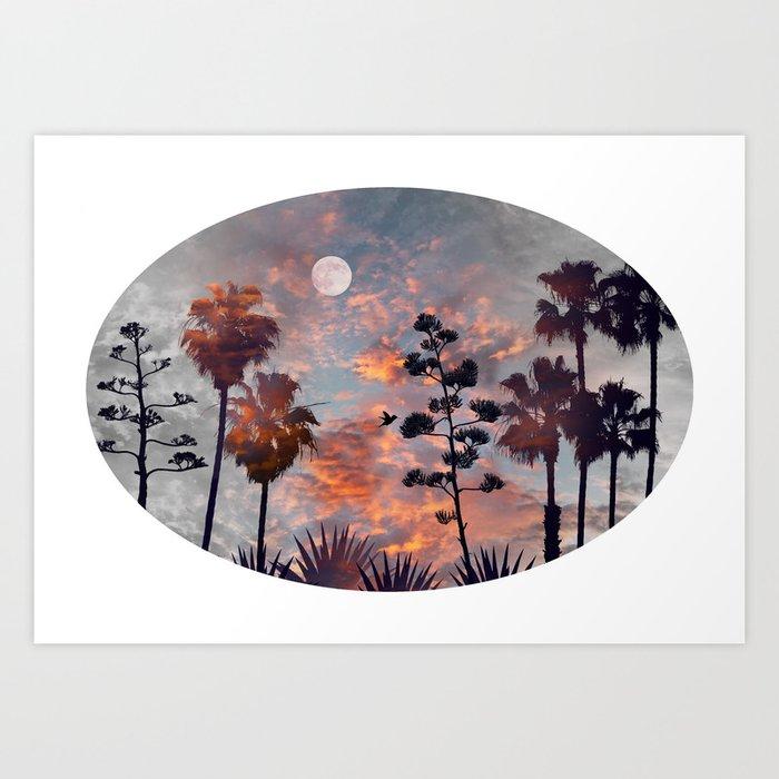 Dreamin' California Art Print